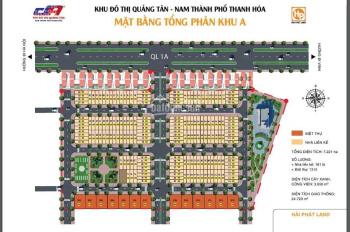 Bán đất nền Quảng Xương diện tích từ 100 - 300m2