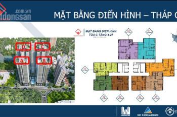 Bán một số suất ngoại giao căn hộ 86m2, 88m2, 92m2 dự án Việt Đức Complex - phường Nhân Chính