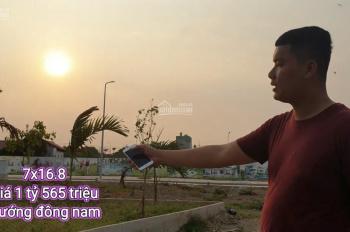 Bán đất mặt tiền đường Trần Văn Chẩm 112m2 giá 1.56 tỷ tl mạnh ,gần chợ Việt Kiều huyện Củ Chi