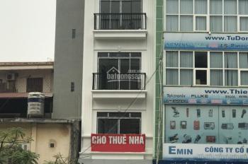 Cho thuê nhà mặt phố Hoàng Cầu mới, Đống Đa, Hà Nội. 40m2, 4.5T, 45tr/th
