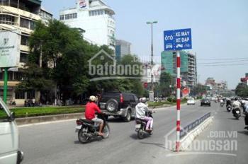 Nhà mặt phố Giải Phóng, Hoàng Mai kinh doanh đỉnh, 3 mặt tiền DT 55m2, 4T, MT 4.8m, giá 10,18 tỷ