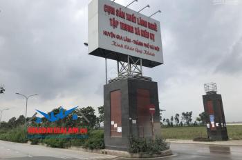 Nhà đất Gia Lâm bán 9 lô đất làng nghề Kiêu Kỵ, giáp Vinhome Gia Lâm, LH 097.141.3456