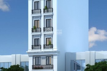 Bán tòa nhà mặt phố số 100 phố Dịch Vọng Hậu. DT 150m2, MT 8.16m, 8 tầng thang máy, 0989864579