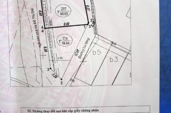 Bán đất sau trường Mỏ Hồng Cẩm,P.Bạch Đằng.Hạ Long.DT:60m2,MT:6.3m.H:ĐN !!!