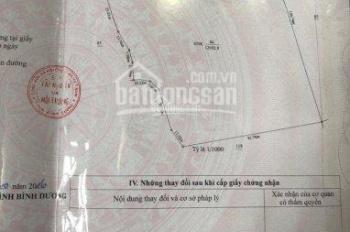 Kẹt tiền bán lô đất lớn tại TX Tân Vĩnh Hiệp, Tân Uyên, Bình Dương. Sổ hồng riêng lên thổ cư