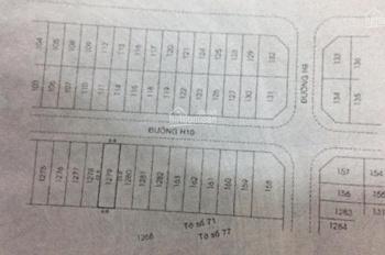 Bán đất MT đường số 6B - khu dân cư Vĩnh Lộc (tái định cư Q5) - ngay nhà hàng dê Vĩnh Lộc
