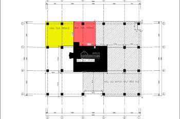 Cho thuê VP tòa Geleximco Peakview Tower Hoàng Cầu diện tích 100m2 đến 1500m2 giá 330 nghìn/m2/th
