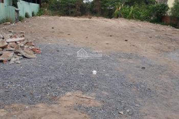 Cho thuê đất mặt bằng, nhà xưởng đường Hương Lộ 80B, Hiệp Thành Quận 12, DT: 1.400m2, giá 30tr