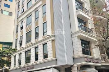 Bán nhà 6 tầng thang máy Dịch Vọng Hậu, Lô Góc, mặt tiền 12m, 185m2 giá 59 tỷ