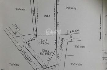 Bán nhà cấp 4, 280m2, nở hậu 10m. Xã Hòa Phú, Củ Chi