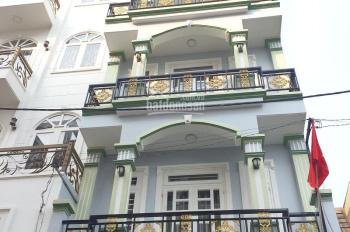 Bán nhà 1 trệt 3 lầu 4.8x13m giá 4.45 tỷ (TL), đường 8m Nguyễn Ảnh Thủ, P. HT, Q12