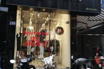 Cho thuê nhà nguyên căn mặt đường Cầu Giấy ưu tiên thời trang và mỹ phẩm. LH: 0949.070.333
