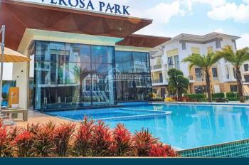 Biệt thự verosa park, 1 trệt 3 tầng, chiết khấu 18%, lãi suất 0% 24 tháng, DT 10x19m