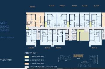 Bán căn duplex 2PN tầng sân vườn tầng 3A đẹp nhất dự án Feliz En Vista, Quận 2. Giá cực hấp dẫn