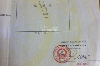 Bán đất khu 1 Nhị Châu, TP. Hải Dương