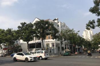 Cho thuê nhà phố Bùi Bằng Đoàn, vị trí góc hai mặt tiền cực đẹp 11x18.5m có thang máy 0911857839