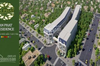 Bán nhà mặt phố tại Dĩ An, ngân hàng hỗ trợ 60% giá 1.2 tỷ, thiết kế nhà phong cách tân cổ điển