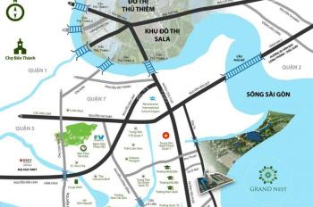 Đất nền dự án Khải Vy - mặt tiền đường Đào Trí 40m quận 7 giá 5,5 tỷ