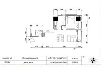 Cạn vốn kinh doanh bán gấp căn hộ 2 PN, 1WC giá tốt 2,1 tỷ CC Vũng Tàu Melody