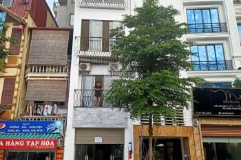 Cho thuê nhà mặt phố Minh Khai 45m2 x 7 tầng, MT 4m, nhà mới xây thông sàn, có thang máy