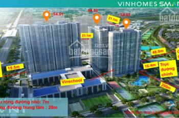 Căn góc 3 phòng ngủ 82m2 - 94m2 (Vinhomes Smart City Tây Mỗ)