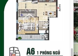 Mình có căn hộ Gold Sea 1PN căn A6 góc tầng cao view TP cần bán gấp