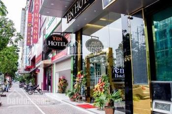 Nhà 3 mặt phố Trần Thái Tông, mặt tiền 8m, lô góc 3 mặt thoáng, sổ nở hậu đẹp