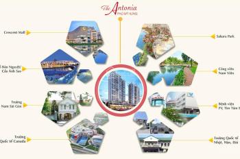 Bán CHCC The Antonio Phú Mỹ Hưng - TT 20% (8 tháng) và 0% lãi suất đến nhận nhà
