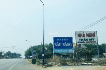 Đất nền sổ riêng Quốc Lộ 13 huyện Bàu Bàng. Tỉnh Bình Dương DT 100m2, giá 250tr