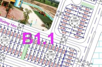 Bán đất liền kề B1.1 LK 12 ô 7 khu đô thị Thanh Hà