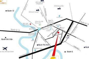 Tôi bán lô đất MT Tam Bình, Q. Thủ Đức, thổ cư 100%, giá 2 tỷ/nền, XDTD, SHR, LH 0931342789