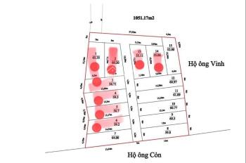 Bán đất sổ đỏ chính chủ thôn Xích Thổ