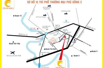 Mở bán 15 nền DT 80m - 100m2, KDC Phú Đông, Tam Bình, Thủ Đức. Giá 15-20tr/m2. LH 0933125290 Tâm