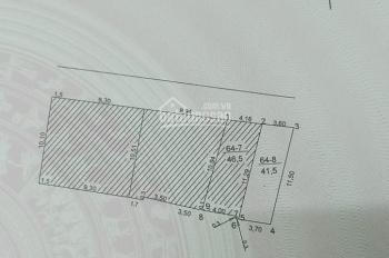 Bán 41.5m2 đất lô góc - giá 1.82 tỷ - thôn Tự Khoát - Xã Ngũ Hiệp - Thanh Trì - Hà Nội