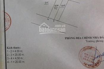 Bán đất kinh doanh ngõ Cửu Việt, Trâu Quỳ, Gia Lâm, DT 90m2, MT 4.5m, đường 5m