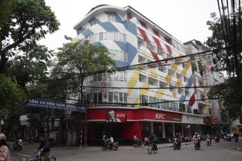 Bán nhà 400m2 mặt phố ngã tư Hàng Bún, Nguyễn Trường Tộ, 4 tầng, mặt tiền 12m, giá 139 tỷ