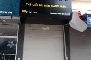 Cho thuê nhà mặt phố 68 B Xã Đàn