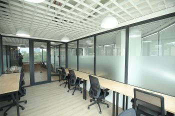 Cho thuê văn phòng 150m2 phố Thái Hà thông sàn, điều hòa âm trần, sàn trải thảm, 20tr/ tháng