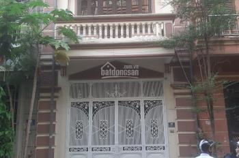 Cho thuê nhà 65m2 x 5 tầng mặt ngõ 38 phố Đặng Thùy Trâm, gần vườn hoa phố Phạm Tuấn Tài