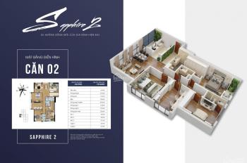 Căn 4 PN tầng đẹp tòa S2 Goldmark City, 29.3tr/m2, vay 50% LS 0% trong 3 năm. LH: 0989253892