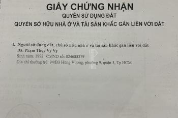 Cần bán gấp 1347 m2 đất ở tại xã Đông Thạnh, huyện Hóc Môn, TP. HCM