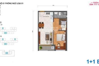 Chuẩn bị bàn giao căn hộ Safira Khang Điền, cần bán gấp 1PN +, DT 50m2, giá 1,82 tỷ. LH: 0915302354