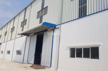 Chính chủ cho thuê nhà xưởng mới hoàn thiện 100% gần KCN Văn Giang, LH: 0983505656