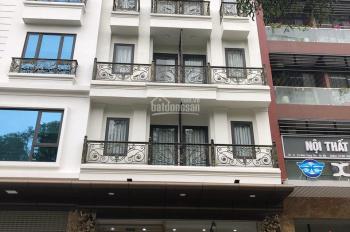 Cho thuê nhà mới Phạm Ngọc Thạch, Kim Liên, Đống Đa 110m2 x 6T + hầm, thống sàn, thang máy