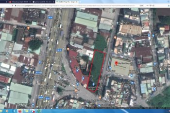 Đât 1075m2 siêu góc 3 mặt tiền Tân Kì Tân Qúy - chợ Bình Hưng Hòa Bình Tân, giá chỉ 62 triệu/m2