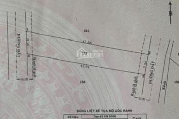 Bán đất Củ Chi 2 mặt tiền 8x47= 381m2, giá 1.8 tỷ, hướng Đông Nam