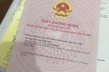 Chính chủ bán gấp nhà hẻm xe tải 5/ Nơ Trang Long, P7, Bình Thạnh (3 lầu) chỉ 6,5 tỷ