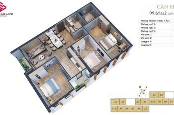 Bảng hàng mới ra 24/3/2020 thêm căn góc đông nam chung cư Anland Lakeview - KĐT Dương Nội