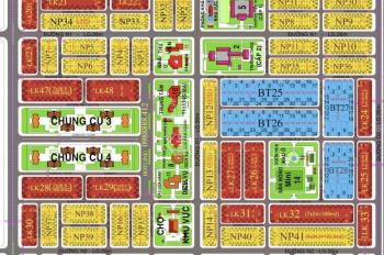 Bán lô nhà phố 97m2, đường 17m, dự án XDHN, vị trí gần chung cư dầu khí, đối diện công viên