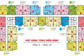 Căn hộ giá rẻ - Kingsway Tower - Giá 1,25 tỷ cận Aeon Mall Tân Phú